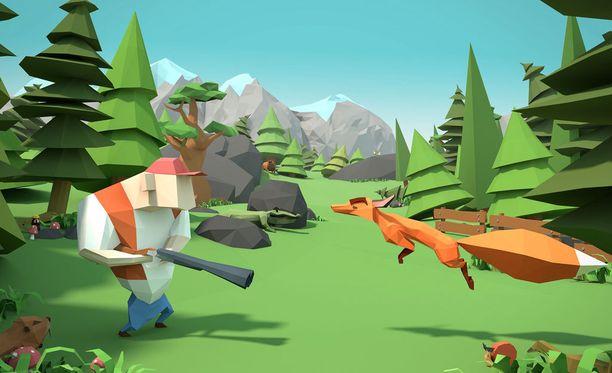 Viime keväänä julkaistu Crashing Season on pelistudion ensimmäinen julkaisu.