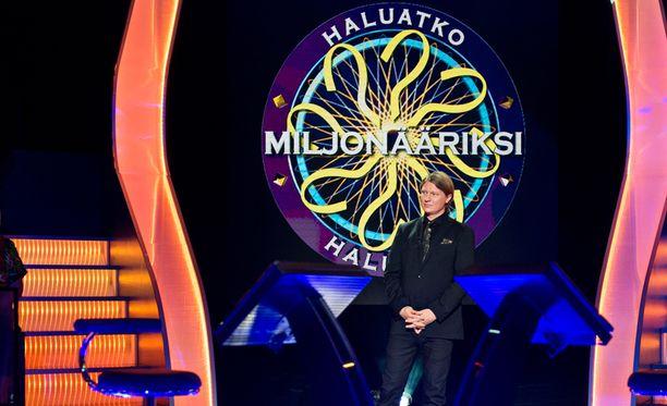 Haluatko miljonääriksi? -ohjelmassa kilpaillut Jukka pelasi varman päälle.