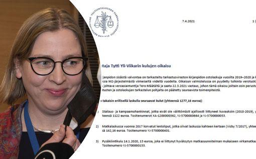 Näitä kuluja VTV perii takaisin – Yli-Viikari maksatti Hesarin ja pyörähuollon veronmaksajilla