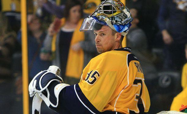 Pekka Rinne on Nashvillen tuki ja turva.