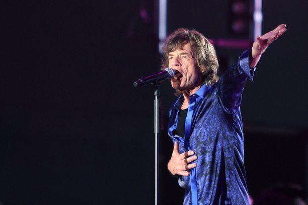 Mick Jagger on osoittanut, ettei vierivä kivi todellakaan sammaloidu.