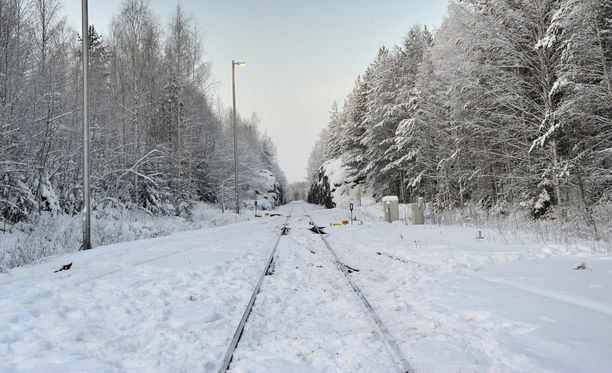 Toistaiseksi ei ole tiedossa, kuka tai ketkä kyhäsivät esteen rautatielle. Kuvituskuva.