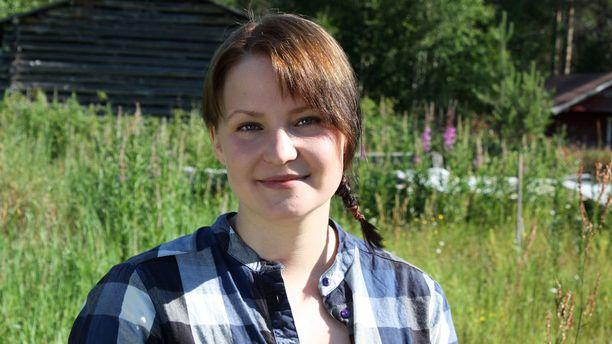 Heidi, 24 v, husky-yrittäjä, Kuusamo