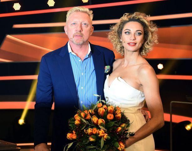 Boris Becker ja Lilly Becker kuvattuina vuonna 2016.