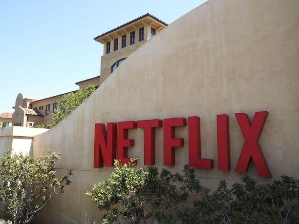 Netflixin päämaja Kaliforniassa.