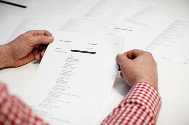 Helsingin hovioikeus vahvisti tällä kertaa alioikeuksien tuomiot liki 70 rikoksesta.