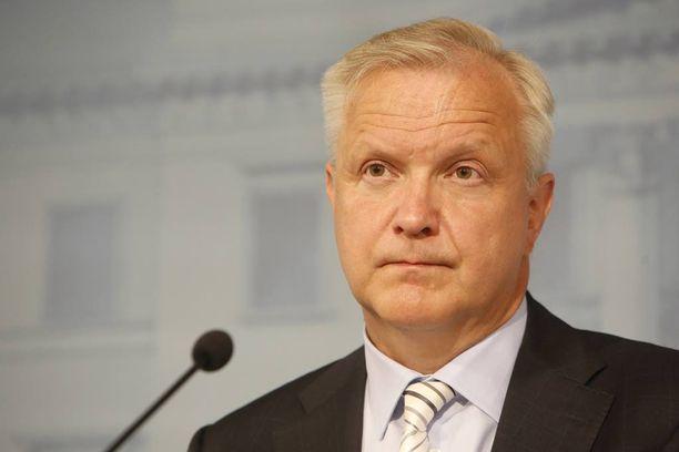 Olli Rehn tapaa matkallaan Yhdysvaltain energiaministerin.