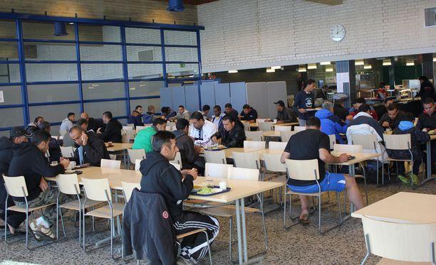 Suomalainen ruoka maistui turvapaikanhakijoille.