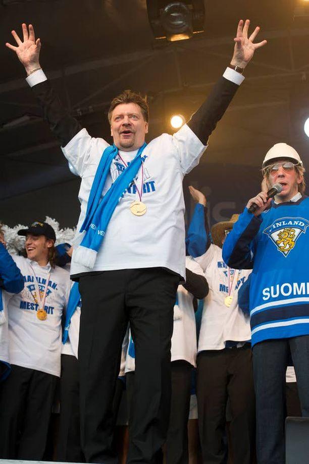Jukka Jalonen on ollut kiekkomies pienestä pitäen.