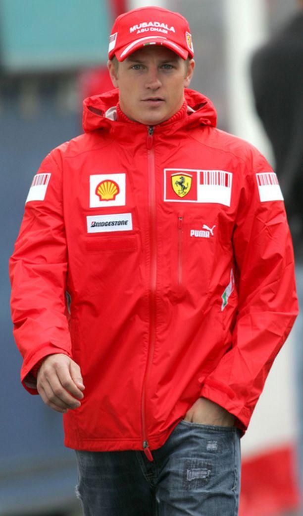Kimi Räikkönen on kääntänyt katseensa jo kohti Ferrarin kotikisaa.