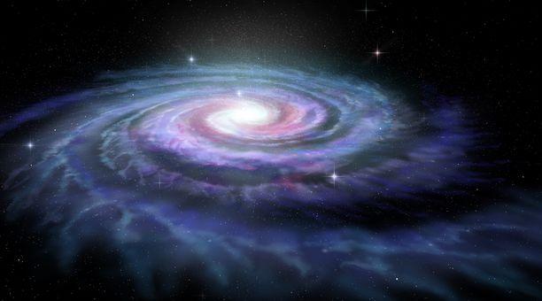 Maa sijaitsee Linnunradan galaksissa.