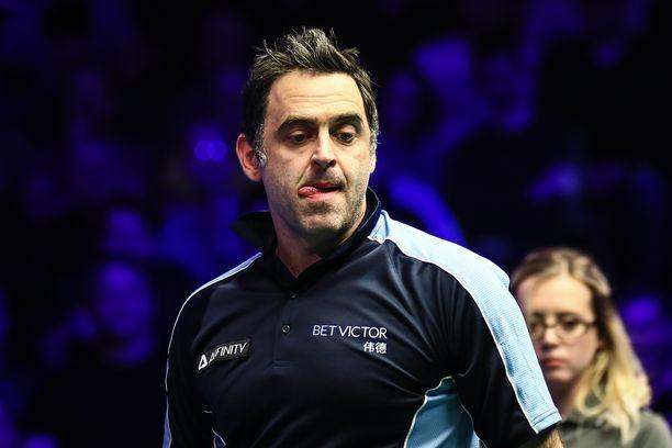 Ronnie O'Sullivan haukkui turnausjärjestelyt.