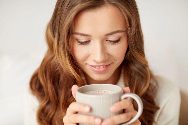 Jos kahvikupin nostaminen huulille onnistuu täydellisesti, et todennäköisesti edes huomaa sitä.