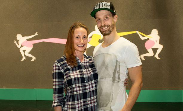 Katri Sorsa ja puoliso Sasu viettivät lauantaina kolmevuotishääpäiväänsä.