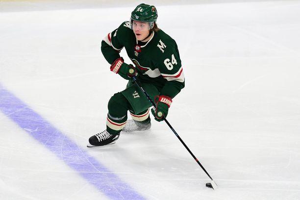 Anaheim Ducksia vastaan tehot 2+1 tehnyt Mikael Granlund valittiin ottelun parhaaksi pelaajaksi.