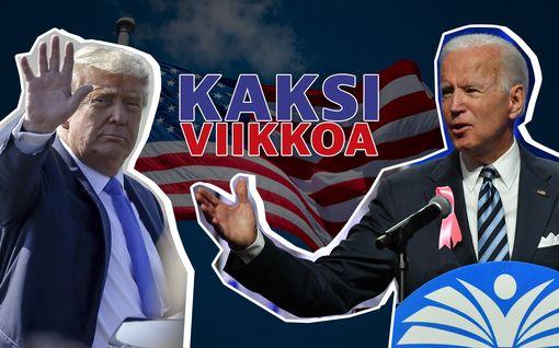 Tasan kaksi viikkoa USA:n presidentinvaaleihin – tämä on tilanne nyt