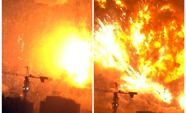 Tuhoisissa räjähdyksissä kuoli ainakin 56 ihmistä ja haavoittui yli 700.