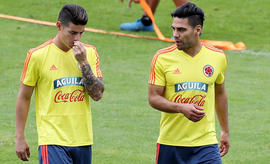 Kolumbia aloittaa urakkansa MM-viheriöillä - kolme pelaajaa ylitse muiden