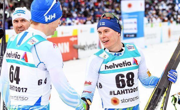 Iivo Niskanen ja Matti Heikkinen huilaavat ensi viikonlopun maailmancupin.