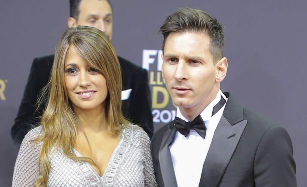 Antonella Roccuzzo ja Lionel Messi saavat toisensa pahamaineisessa paikassa.