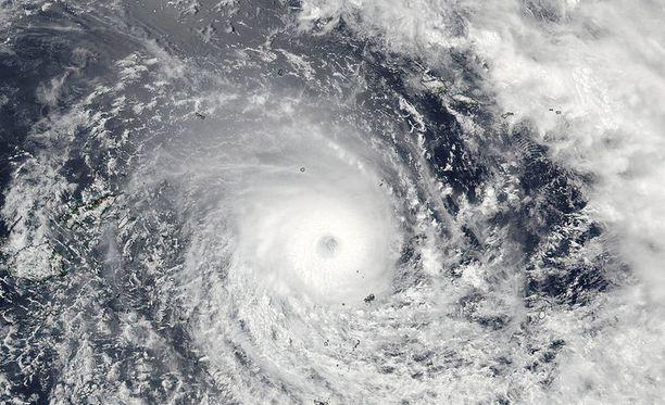 Nasa julkaisi satelliittikuvan pyörremyrskystä.