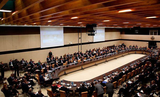 Naton ulkoministerikokous pidettiin tiistaina Brysselissä.