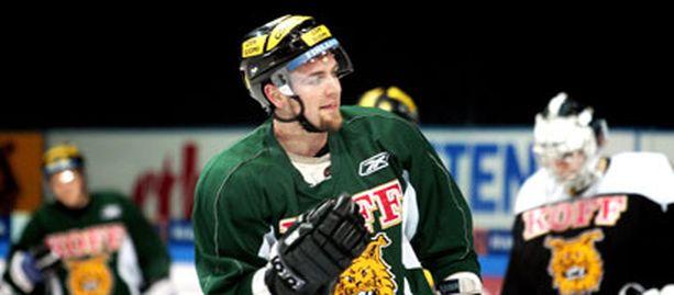 Matt Nickerson voitti viime kaudella SM-liigan jäähypörssin.