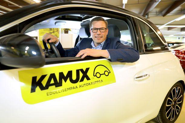 Kamuxin toimitusjohtaja Juha Kalliokoski. Arkistokuva kesäkuulta 2017.