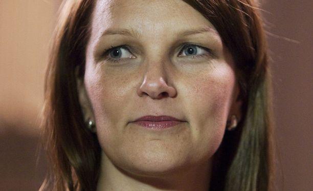 Pääministeri Mari Kiviniemi