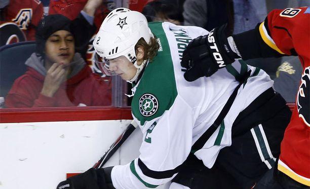 Jyrki Jokipakka tekee läpimurtoa NHL:ssä.