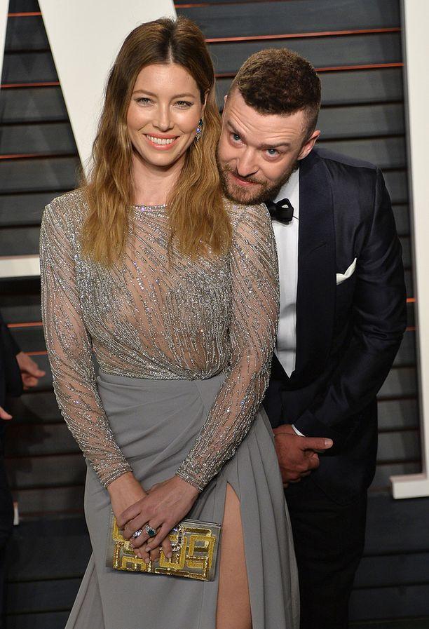 Jessica Biel ja Justin Timberlake