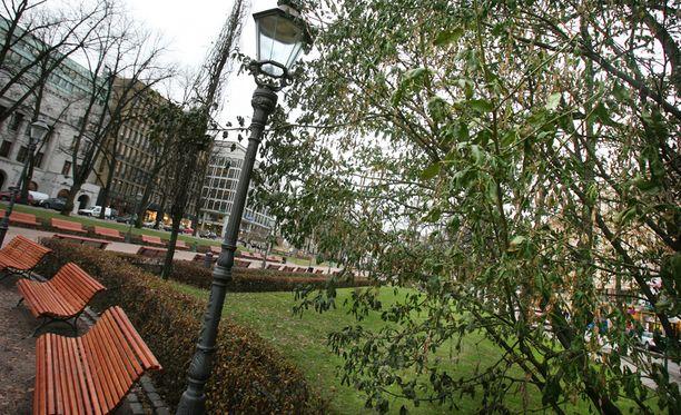 Marraskuun kaksi ensimmäistä viikkoa ovat selvästi tavanomaista lämpimämpiä. Kuva on otettu 16. marraskuuta 2006, jolloin oli niin ikään todella lämmintä.