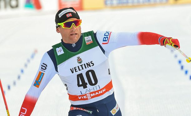Niklas Dyrhaugille tuli nälkä kesken viidenkympin kisan.