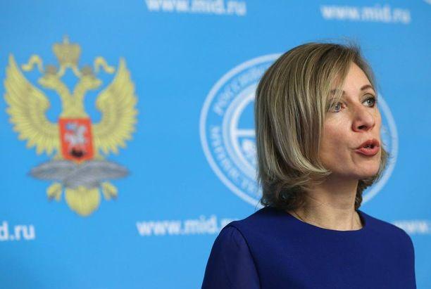 Venäjän ulkoministeriön tiedottaja Maria Zaharova kommentoi kovin sanoin Supoa.