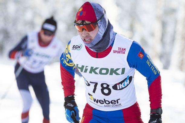 Achbadrakh Batmunkh oli 82:s SM-hiihdoissa Pyhäjärvellä.