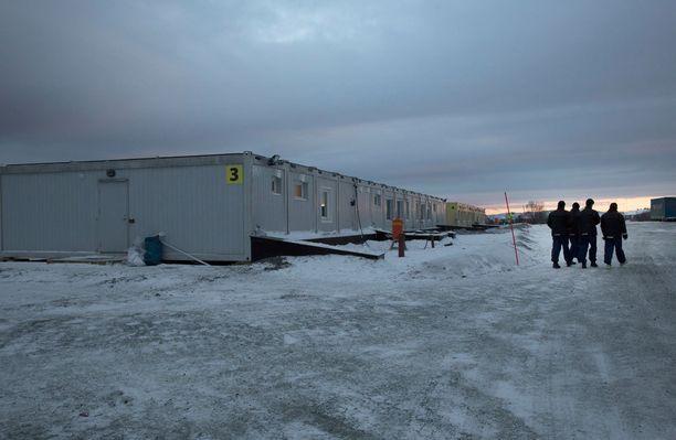 Kirkenesin on avattu uusi vastaanottokeskus pakolaisille.