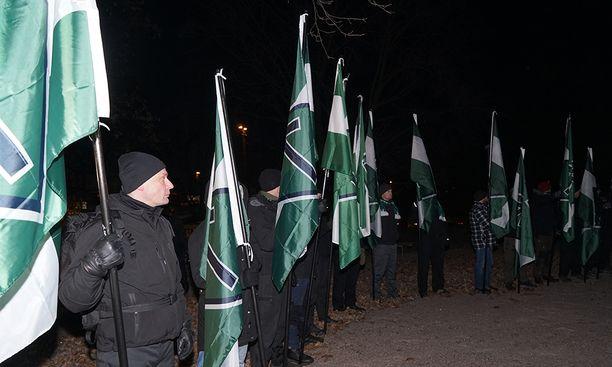 Uusnatsit ovat julkaisseet videon NTV:n nettikanavalla, joka on Pohjoismaisen vastarintaliikkeen oma tiedotuskanava.