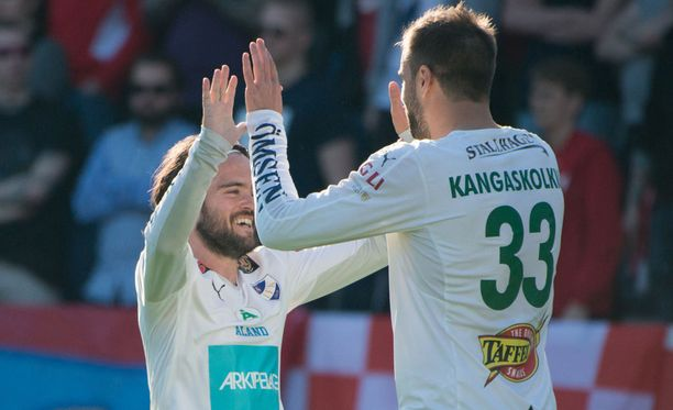 Robbin Sellin ja Aleksei Kangaskolkka osuivat kumpikin Interiä vastaan.