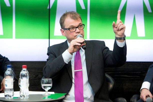 Juha Sipilä osallistui tiistaina Helsingin Sanomien vaalitenttiin.