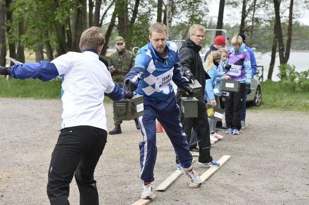 Hanno Möttölä johti Team Möttölää.