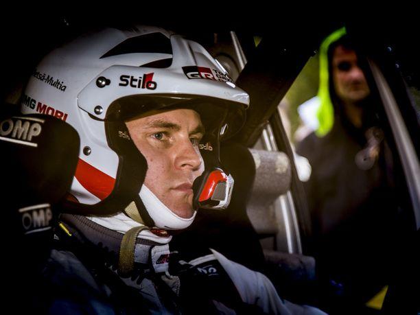 Esapekka Lappi kilpailee Australiassa toistaiseksi viimeisen kerran Toyotalla.