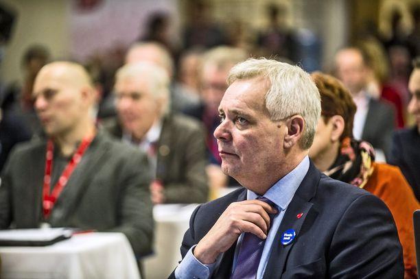 Sdp:n puheenjohtaja Antti Rinne on sairauslomalla tammikuun ajan.
