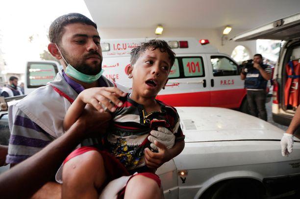 Yli 1500 kuolonuhrista joka neljäs on lapsi.
