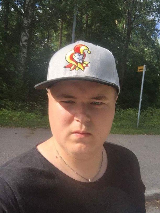 Keskustanuorten Uudenmaan piirin puheenjohtaja Sami Ronkola, 23, on kotoisin Vantaalta.