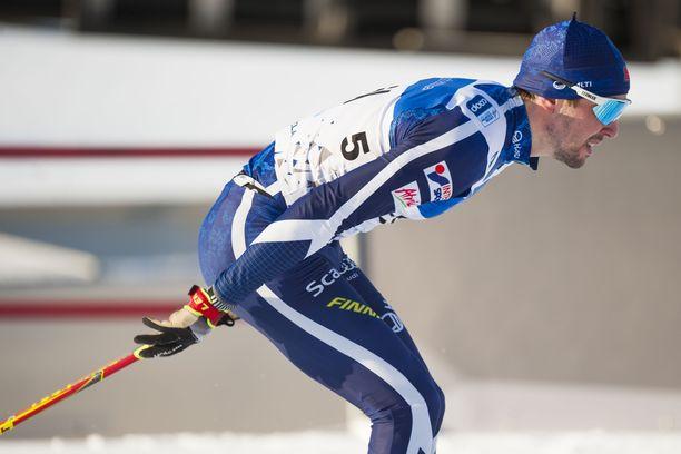 Ristomatti Hakola hiihti pyhänä uransa parhaan normaalimatkan kilpailun, kun hän oli yhdeksäs.