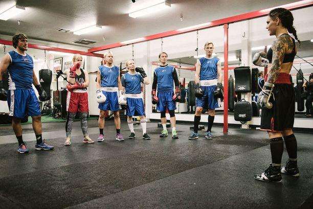 Wahlströmin järjestämät treenit osoittautuvat monelle odotettua rankemmiksi.