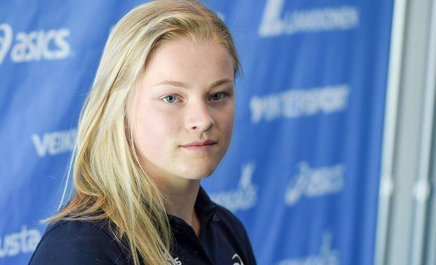 Suomen olympiajoukkueen kuopus Wilma Murto jäi karsintaan.