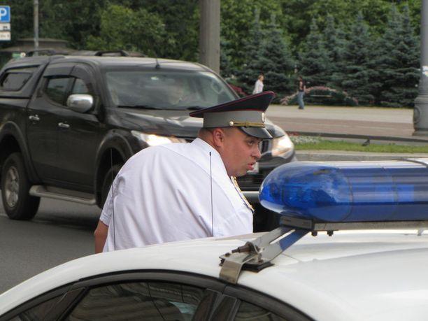 Venäjän liikennepoliisia on moitittu usein persoudesta lahjuksille.