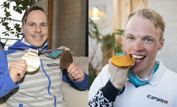 Matti Suur-Hamari (vas.) ja Iivo Niskanen onnistuivat loistavasti kauden tärkeimmällä hetkellä.