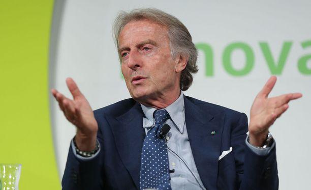 Luca di Montezemolo toimi Ferrarin pääjohtajana vuosina 1991-2014. Ferrarin F1-tallissa nyt 70-vuotias italialainen työskenteli jo 1970-luvulla.